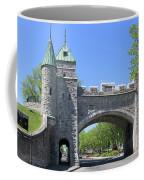 Old Quebec City Wall Quebec City 6358 Coffee Mug