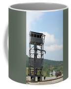 Old Railway Station Equipment For Steam Locomotives Coffee Mug