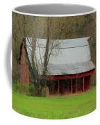 Old Red Barn In Jefferson County Coffee Mug