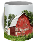 Old Red Barn Johnson County Ia Coffee Mug