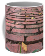 Old Red Brick Road Coffee Mug by Yali Shi
