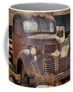Old Red Dodge Truck Coffee Mug
