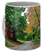 Old Red House Coffee Mug