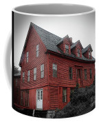 Old Red House In Shelburne Falls Coffee Mug