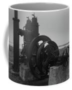 Old Rice Field Pump Bw Coffee Mug