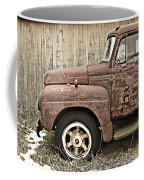 Old Rust Truck Coffee Mug
