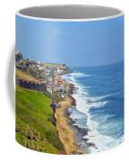 Old San Juan Coastline 3 Coffee Mug