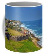 Old San Juan Coastline Coffee Mug