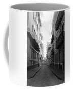 Old San Juan Puerto Rico Downtown On The Street Coffee Mug