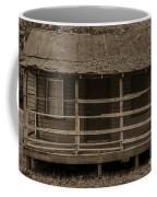 Old Shack In Sepia Coffee Mug