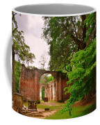Old Sheldon Church Ruins 3 Coffee Mug