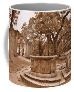 Old Sheldon Church Ruins Beaufort Sc Sepia Coffee Mug