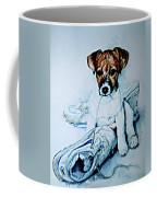 Old Shoe Pup Coffee Mug
