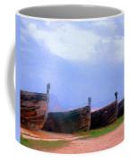 Old Sicilian Fishing Boats Coffee Mug