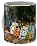 Old Sign Coffee Mug