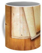 Old Spruce Boards On Top Of Each Other Coffee Mug
