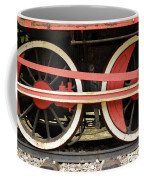Old Steam Locomotive Iron Rusty Wheels Coffee Mug