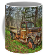 Old Still Art 1947 Ford Stakebed Pickup Truck Ar Coffee Mug