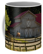 Old-style Horse Barn Coffee Mug