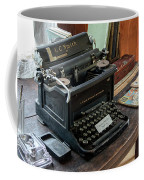 Old Style Texting Coffee Mug