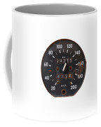 Old Tachometer Coffee Mug