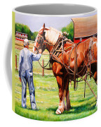 Old Timers Coffee Mug by Toni Grote