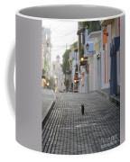 Old Town Alley Cat Coffee Mug