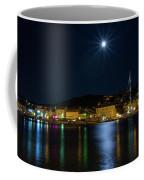 Old Town At Night Coffee Mug