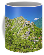 Old Town Knin On The Rock View Coffee Mug