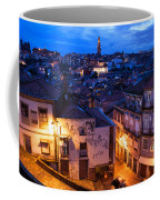 Old Town Of Porto In Portugal At Dusk Coffee Mug