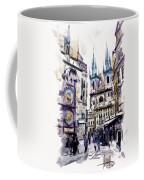 Old Town Square In Prague Coffee Mug