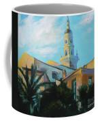 Old Town Tower In Menton Coffee Mug