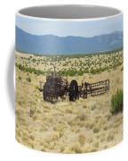 Old Tractor And Rake In New Mexico Coffee Mug
