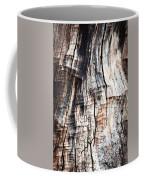 Old Tree Stump Tree Without Bark Coffee Mug
