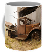 Old Truck In Old Forgotten Places Coffee Mug