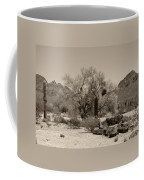 Old Tucson Landscape  Coffee Mug