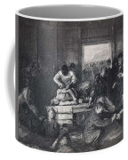 Old Varsity Men Break In And Give Advice, First State By George Bellows  Coffee Mug
