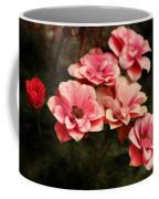 Old Victorian Fuchsia Pink Rose Coffee Mug