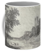 Old View Of Durham Cathedral Coffee Mug