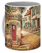 Old Village 3 Coffee Mug