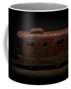 Old Vintage Caboose Number 624 Coffee Mug