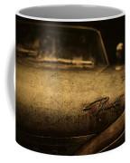 Old Vintage Plymouth Car Hood Coffee Mug
