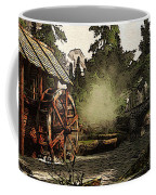 Old Watermill In The Forest Coffee Mug