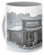 Old West With Superstition Mountains Coffee Mug