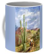 Old Western Skies Coffee Mug