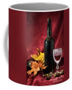 Old Wine Bottle Coffee Mug