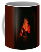 Old Woman With A Candle Coffee Mug