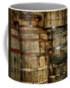 Old Wood Whiskey Barrels Coffee Mug