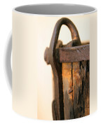 Old Wooden Barrel At The Ore Mine Sweden Coffee Mug by Dagmar Batyahav