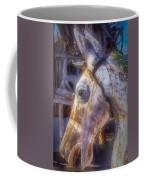 Old Wooden Horse Head Coffee Mug